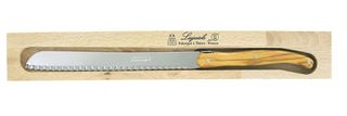 Laguiole Bread Knife - Olive Wood