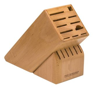 Peer Sorenson Beechwood 17 Slot Knife Block