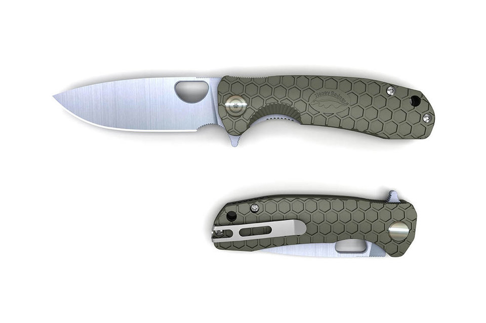 Honey Badger Flipper - Green Large